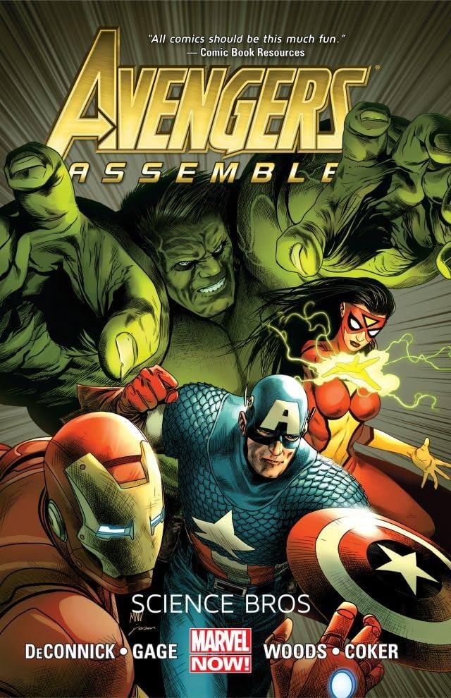 Avengers Assemble: Science Bros