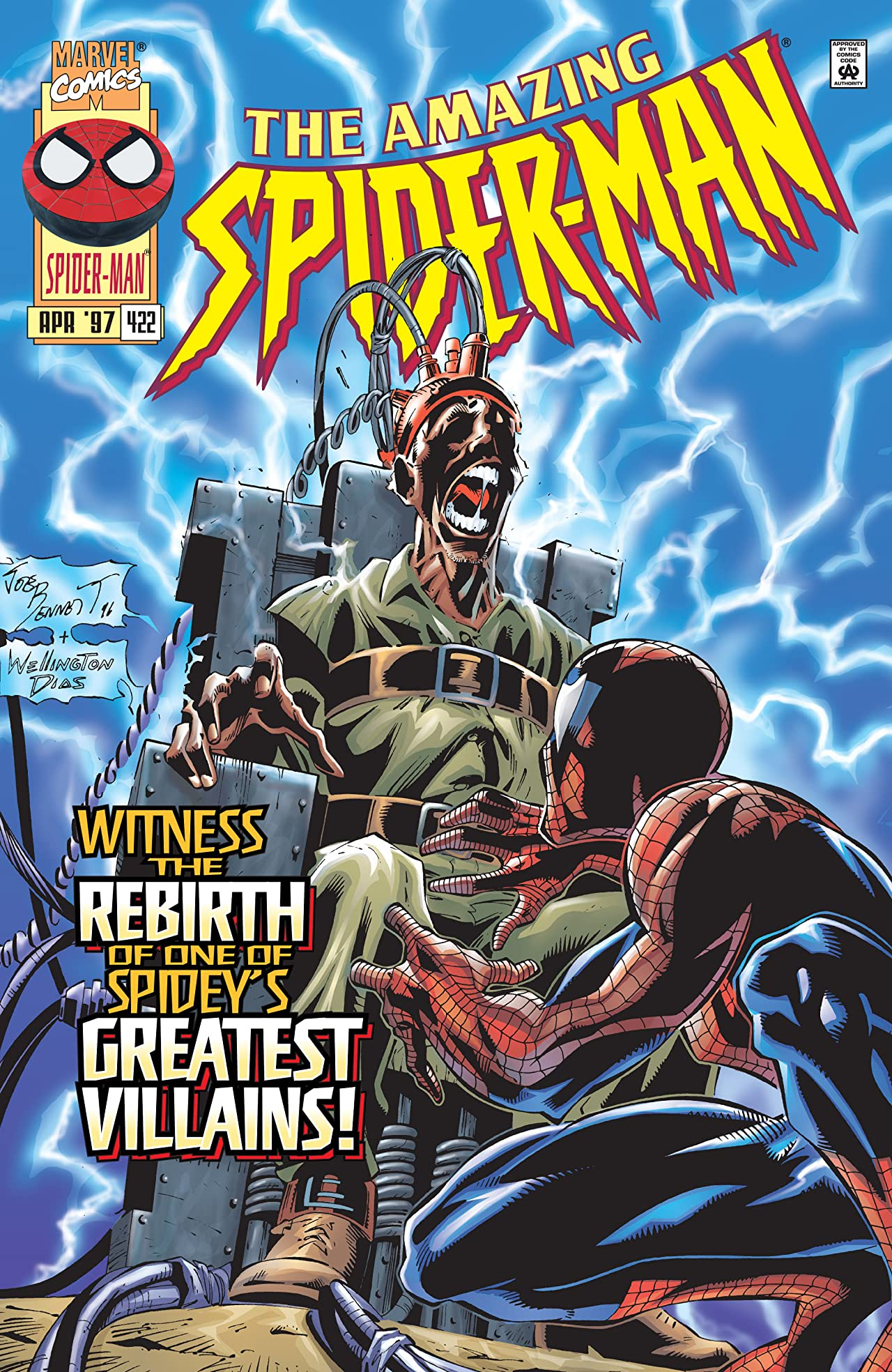 Amazing Spider-Man (1963-1998) #422