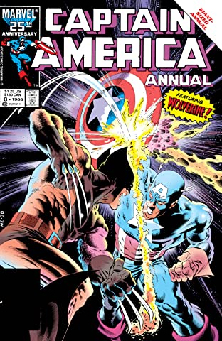 Captain America (1968-1996) Annual No.8