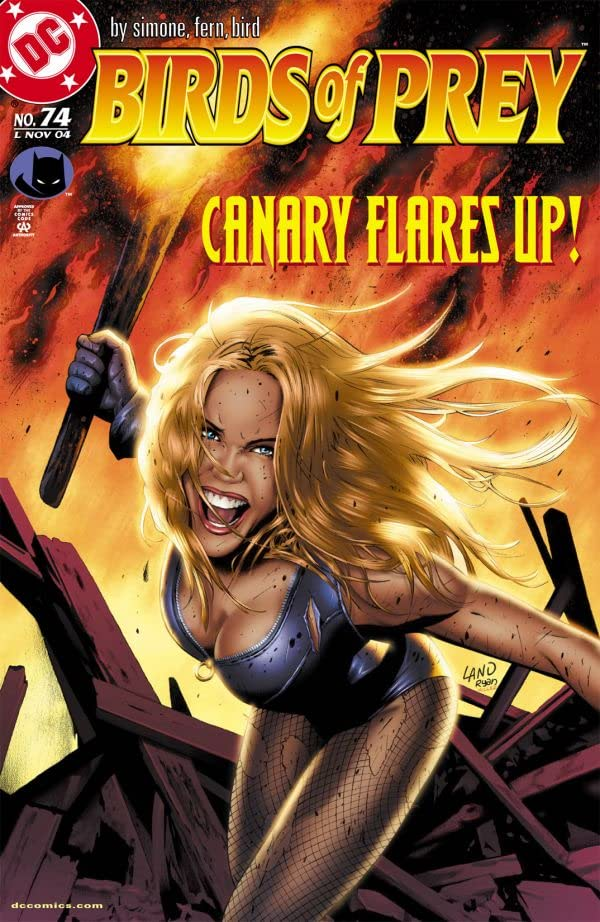 Birds of Prey (1999-2009) #74