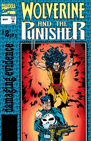 Wolverine/Punisher: Damaging Evidence (1993) #2 (of 3)
