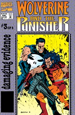 Wolverine/Punisher: Damaging Evidence (1993) #3 (of 3)