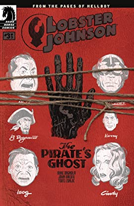 Lobster Johnson: The Pirate's Ghost #3