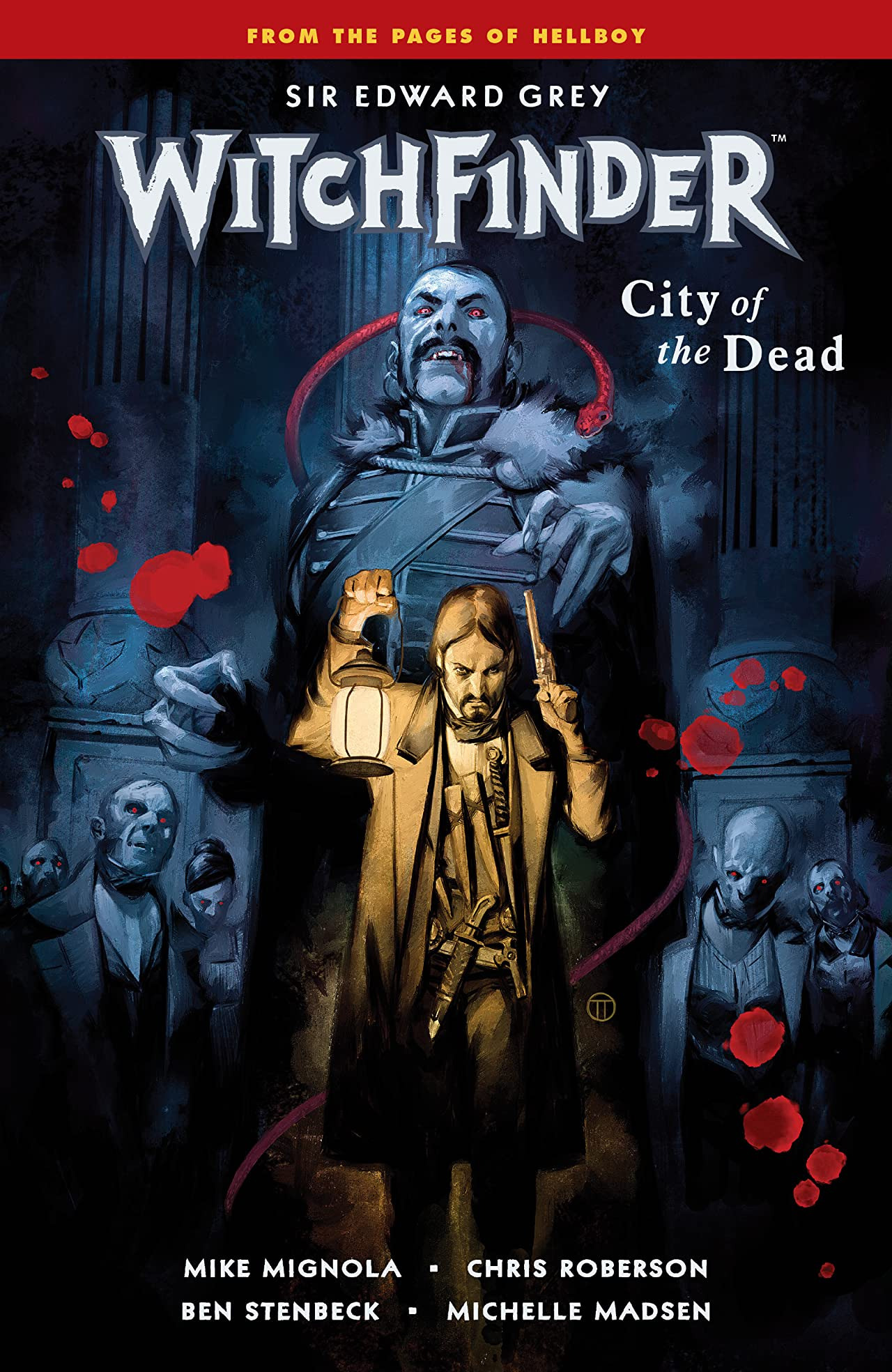 Witchfinder Vol. 4: City of the Dead