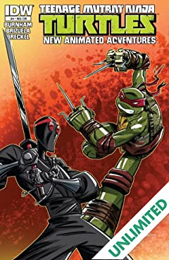 Teenage Mutant Ninja Turtles: New Animated Adventures #4