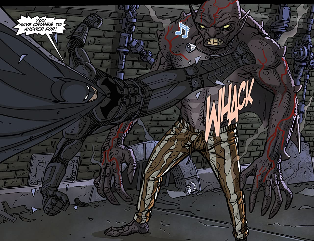 Legends of the Dark Knight (2012-2015) #73