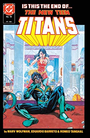 The New Teen Titans (1984-1996) #19