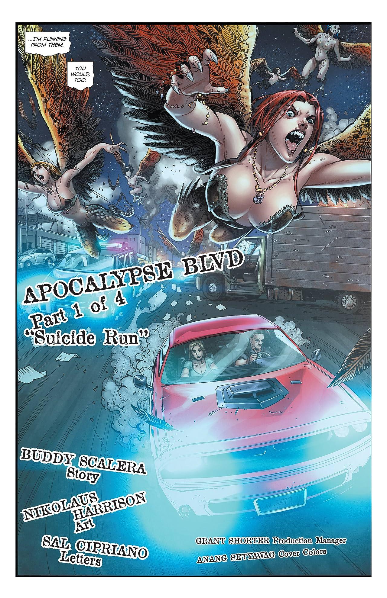 Apocalypse Blvd #1