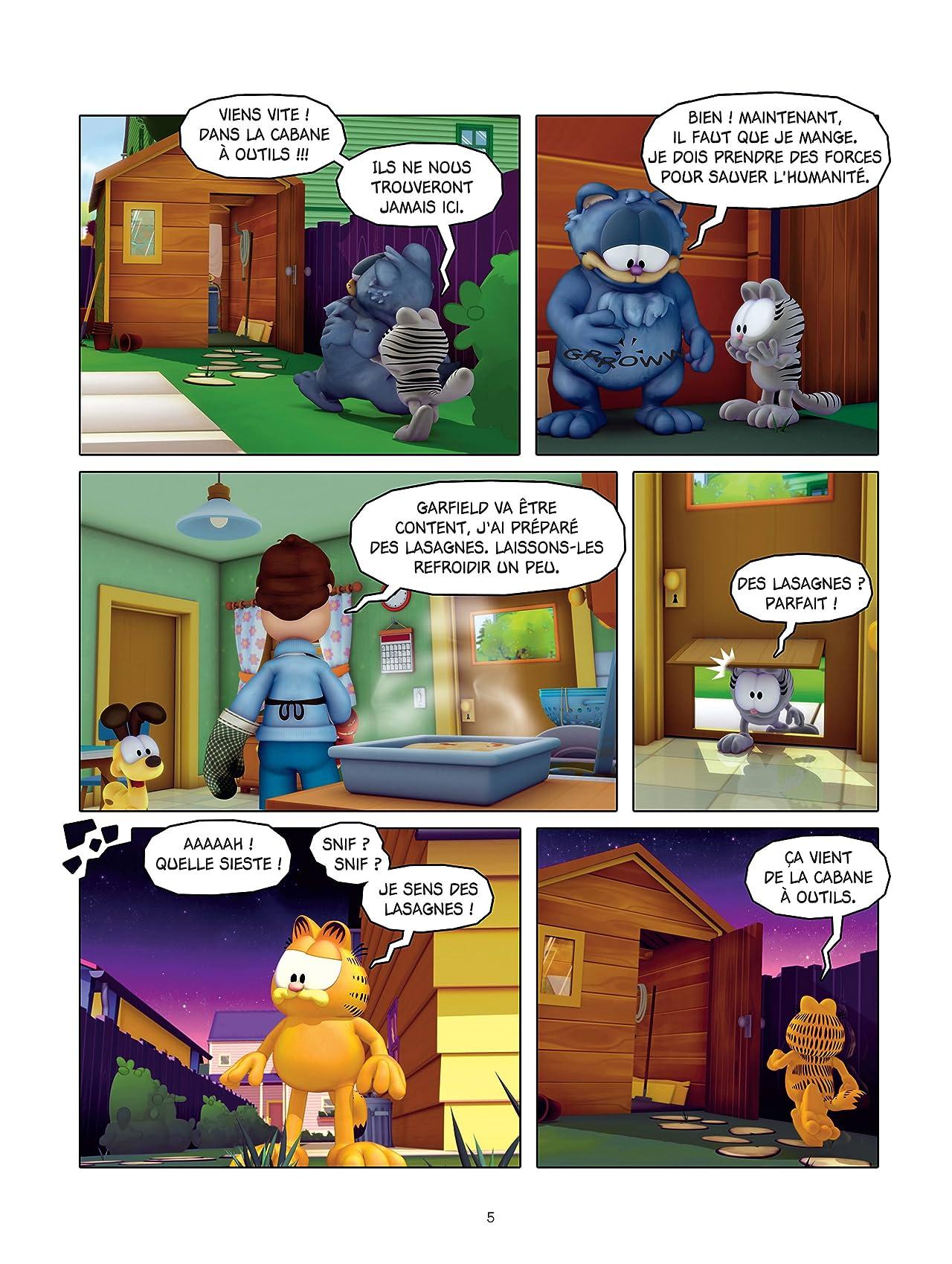Garfield et Cie Vol. 8: Agent secret