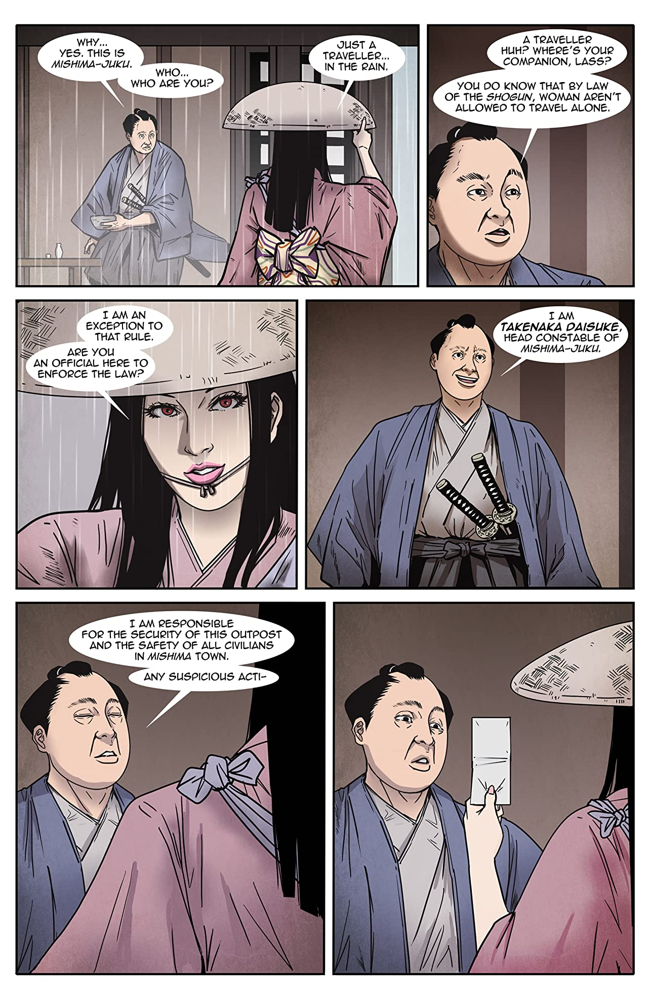 Kitsune: Assassin For Hire #6