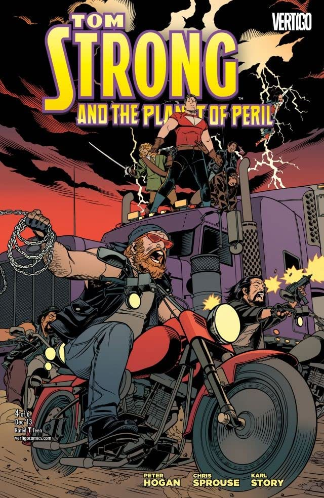 Tom Strong and the Planet of Peril #4 (of 6)
