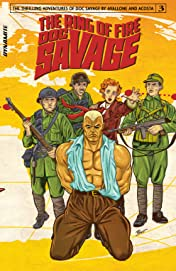 Doc Savage: Ring Of Fire #3