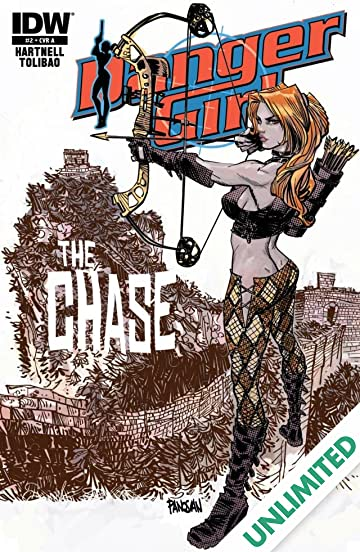 Danger Girl: The Chase! #2 (of 4)