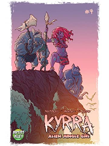 Kyrra: Alien Jungle Girl #4