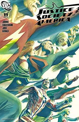 Justice Society of America (2007-2011) No.11
