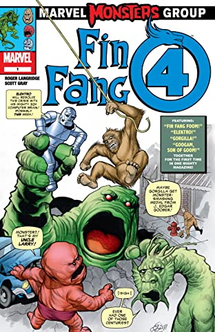 Marvel Monsters: Fin Fang 4 (2005) #1