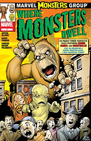 Marvel Monsters: Where Monsters Dwell (2005) #1
