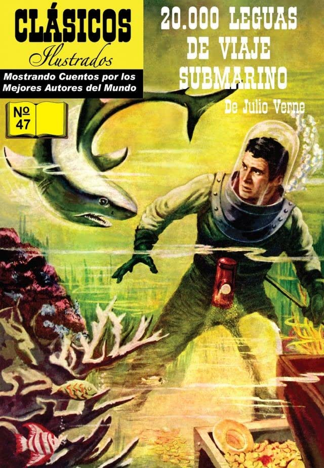 Classics Illustrated #47: 20,000 Leagues Under the Sea (Spanish)