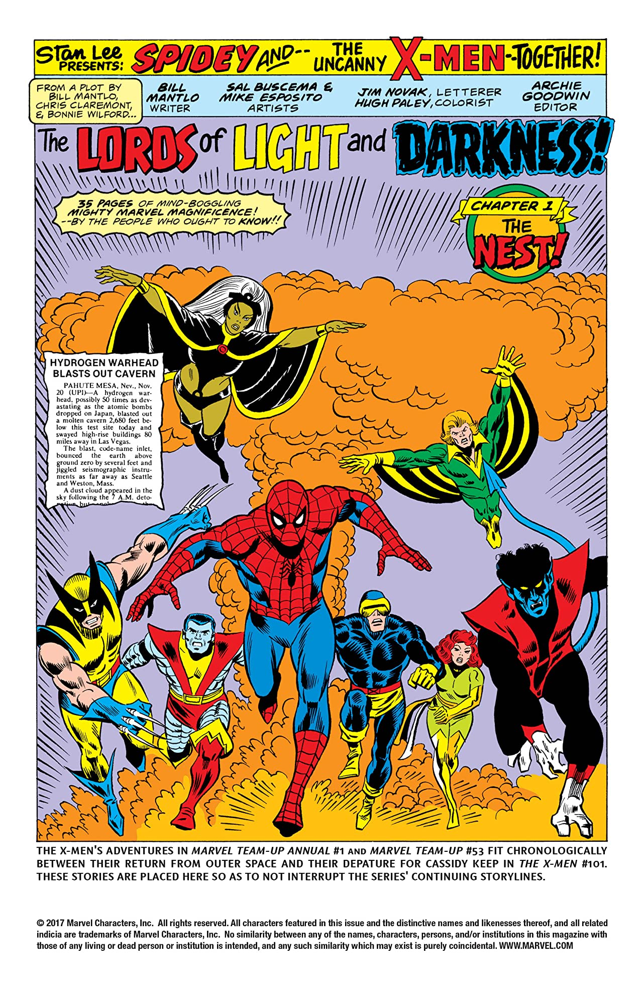 Marvel Team-Up (1972-1985) Annual #1