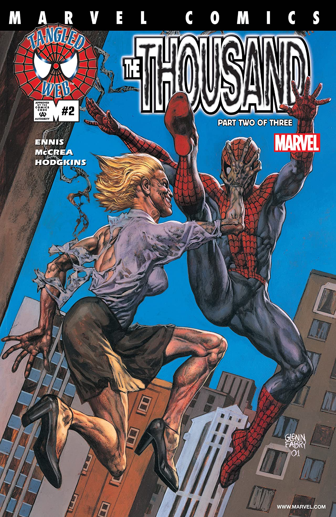 Spider-Man's Tangled Web (2001-2003) #2