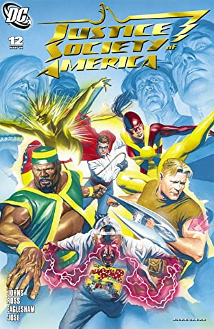 Justice Society of America (2007-2011) No.12