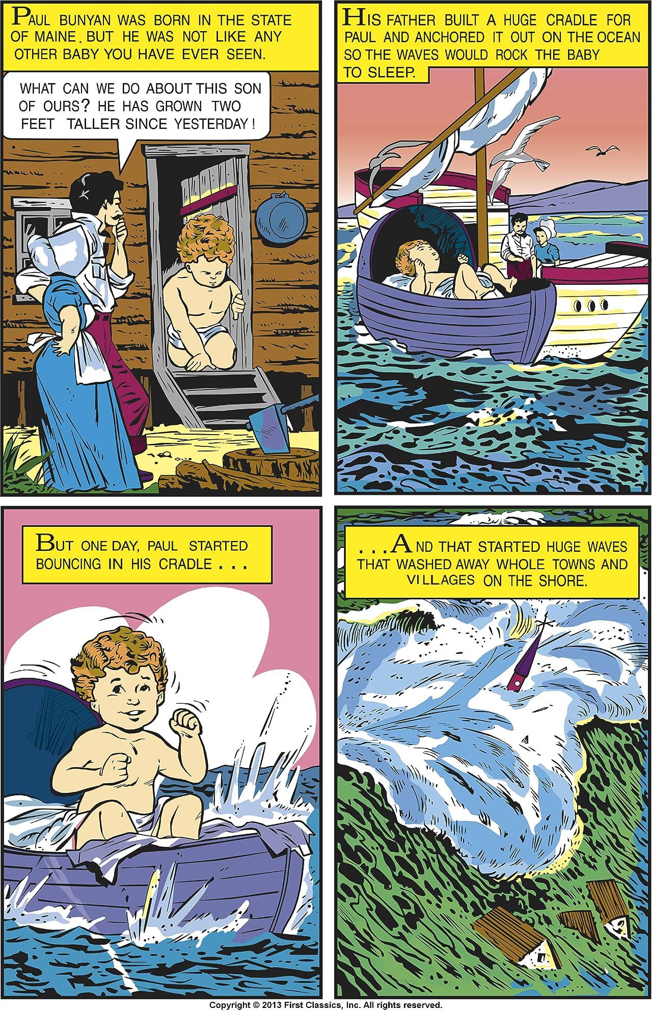 Classics Illustrated Junior #519: Paul Bunyan