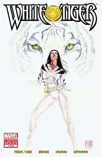 White Tiger 1 Of 6 Marvel Comics