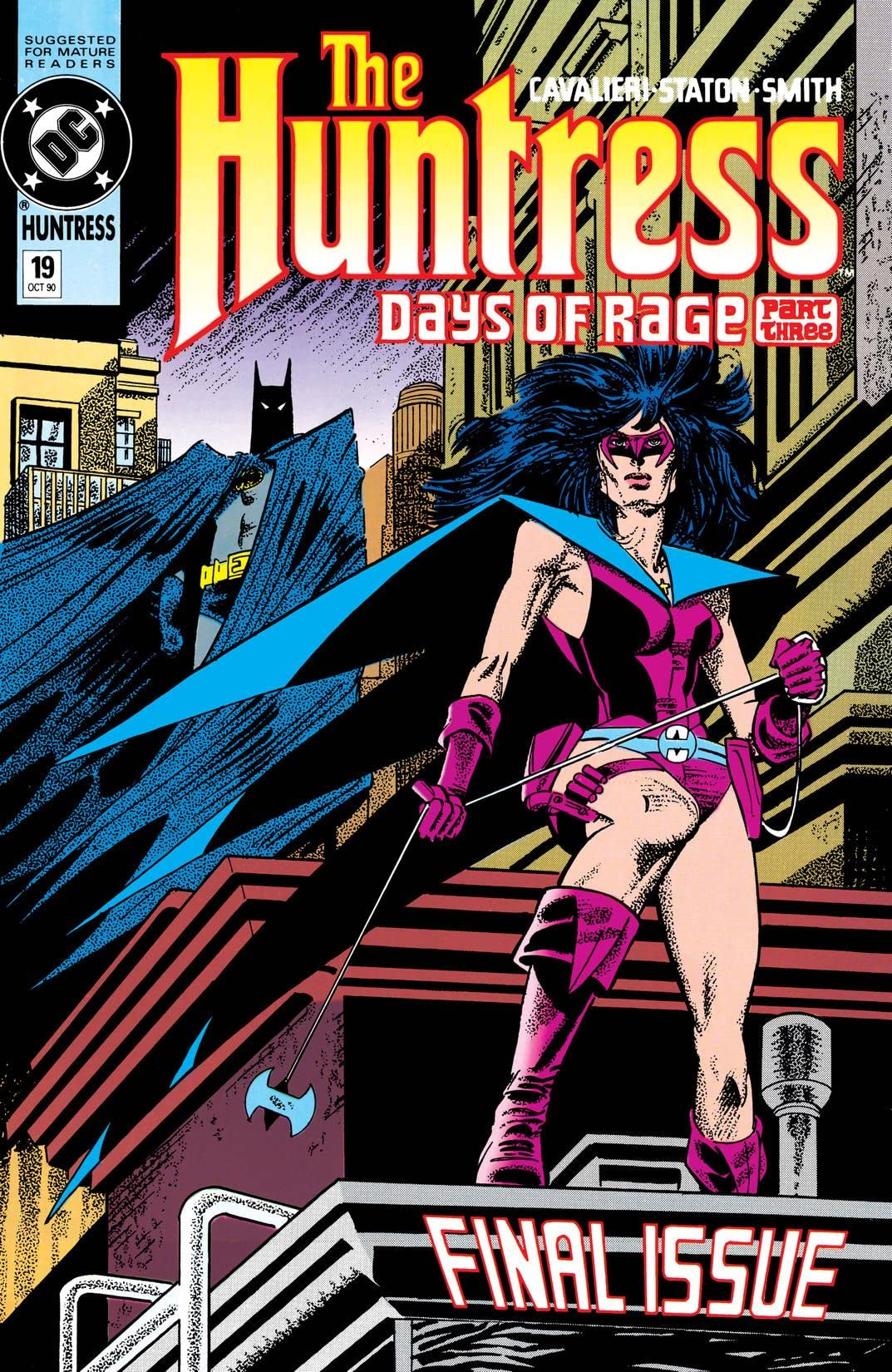 The Huntress (1989-1990) #19