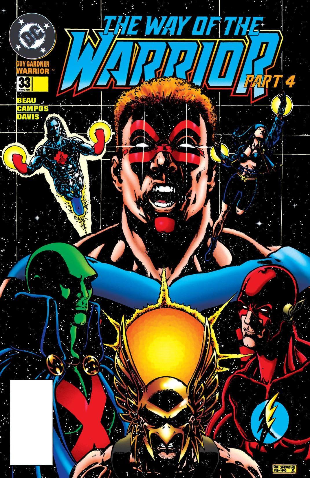 Guy Gardner: Warrior (1992-1996) #33