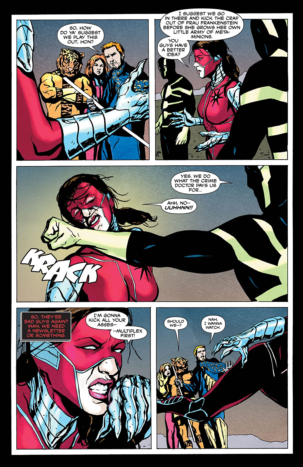 Manhunter (2004-2009) #34