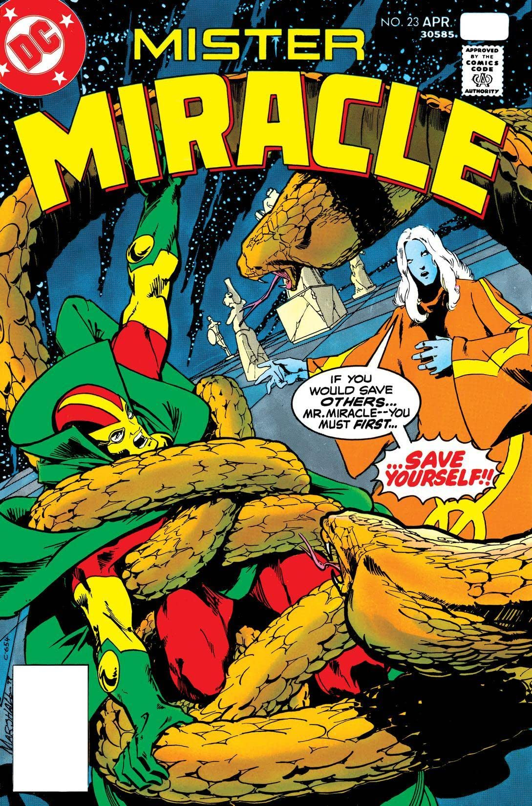 Mister Miracle (1971-1978) #23