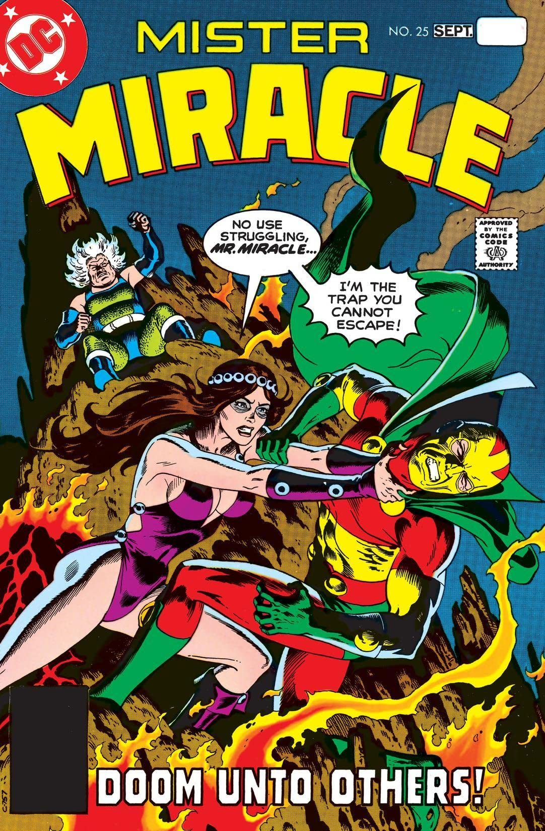 Mister Miracle (1971-1978) #25