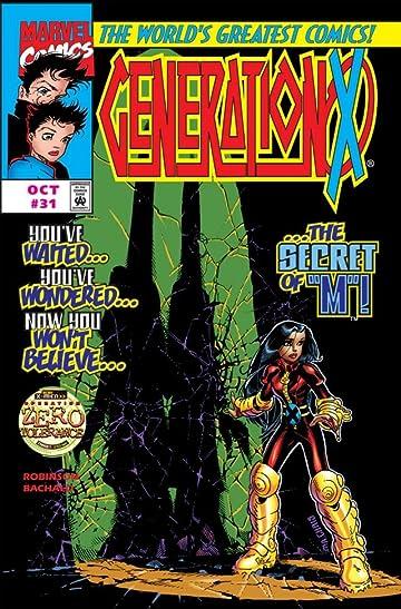 Generation X (1994-2001) #31