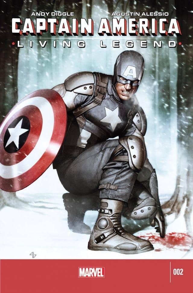 Captain America: Living Legend #2 (of 4)