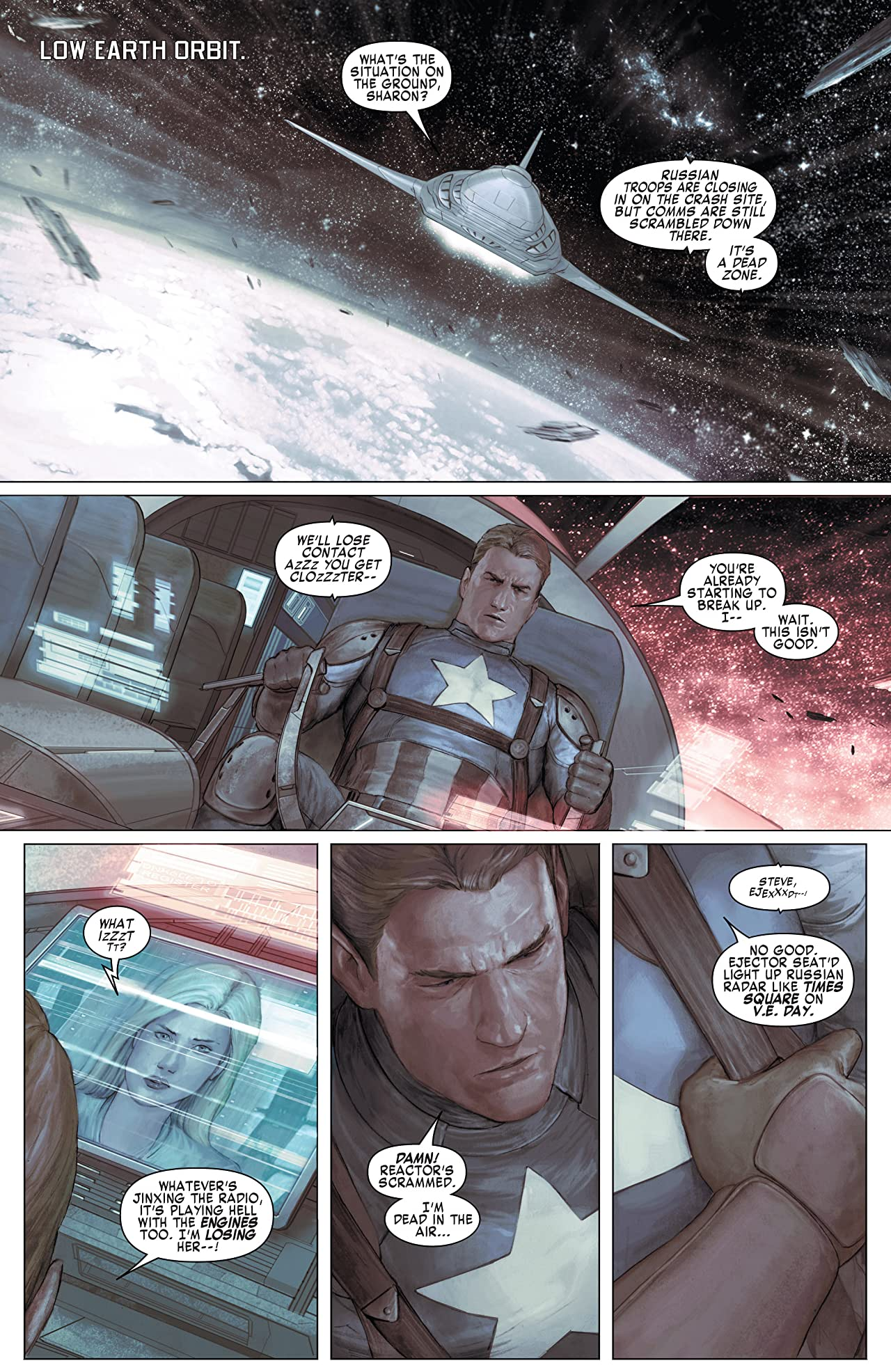 Captain America: Living Legend #2 (of 4)