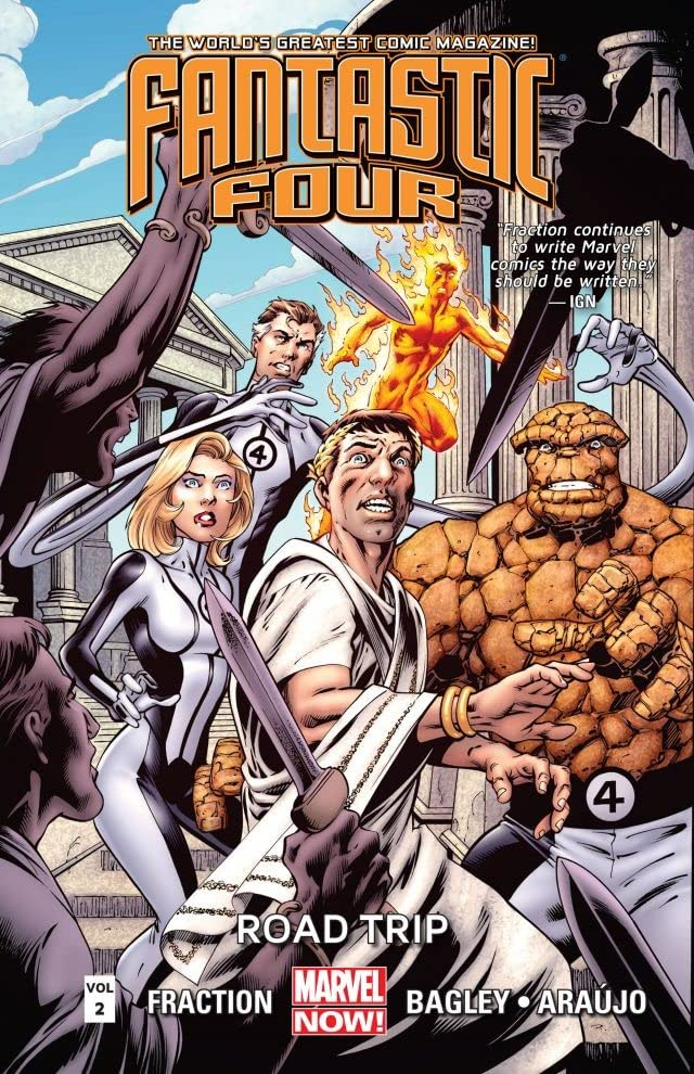 Fantastic Four Vol. 2: Road Trip
