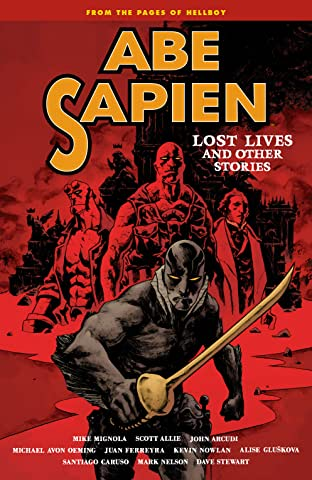 Abe Sapien Tome 9: Lost Lives and Other Stories
