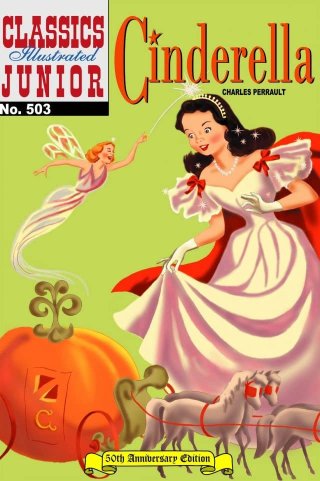 Classics Illustrated Junior #503: Cinderella