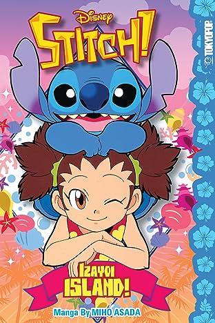 Disney Manga: Stitch! - Izayoi Island!