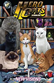 Hero Cats of Stellar City: New Visions Vol. 5