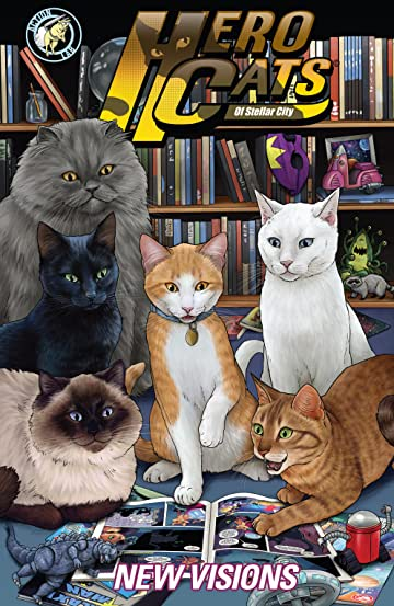Hero Cats of Stellar City: New Visions Vol. 5