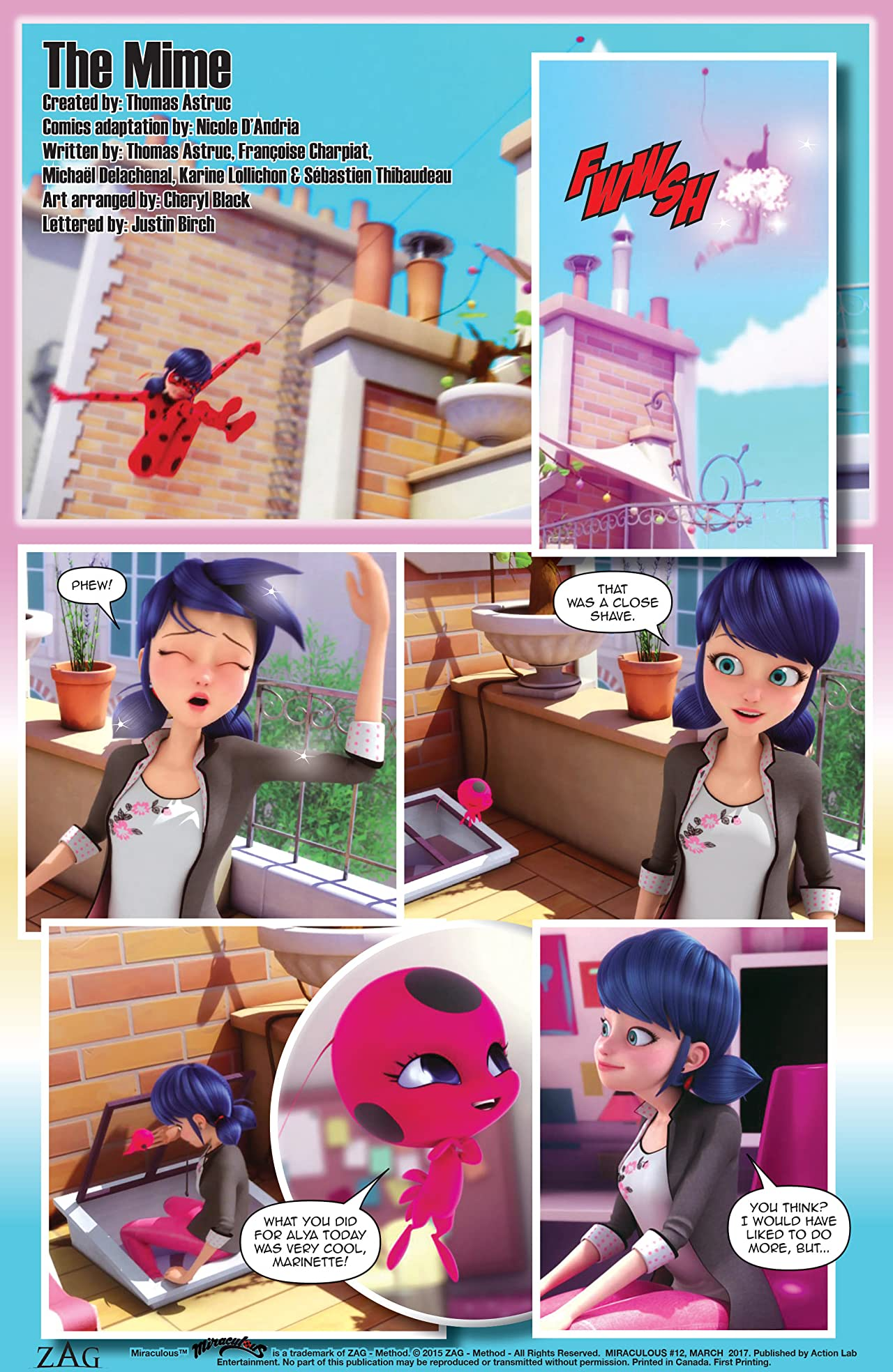 Miraculous: Tales of Lady Bug and Cat Noir #12