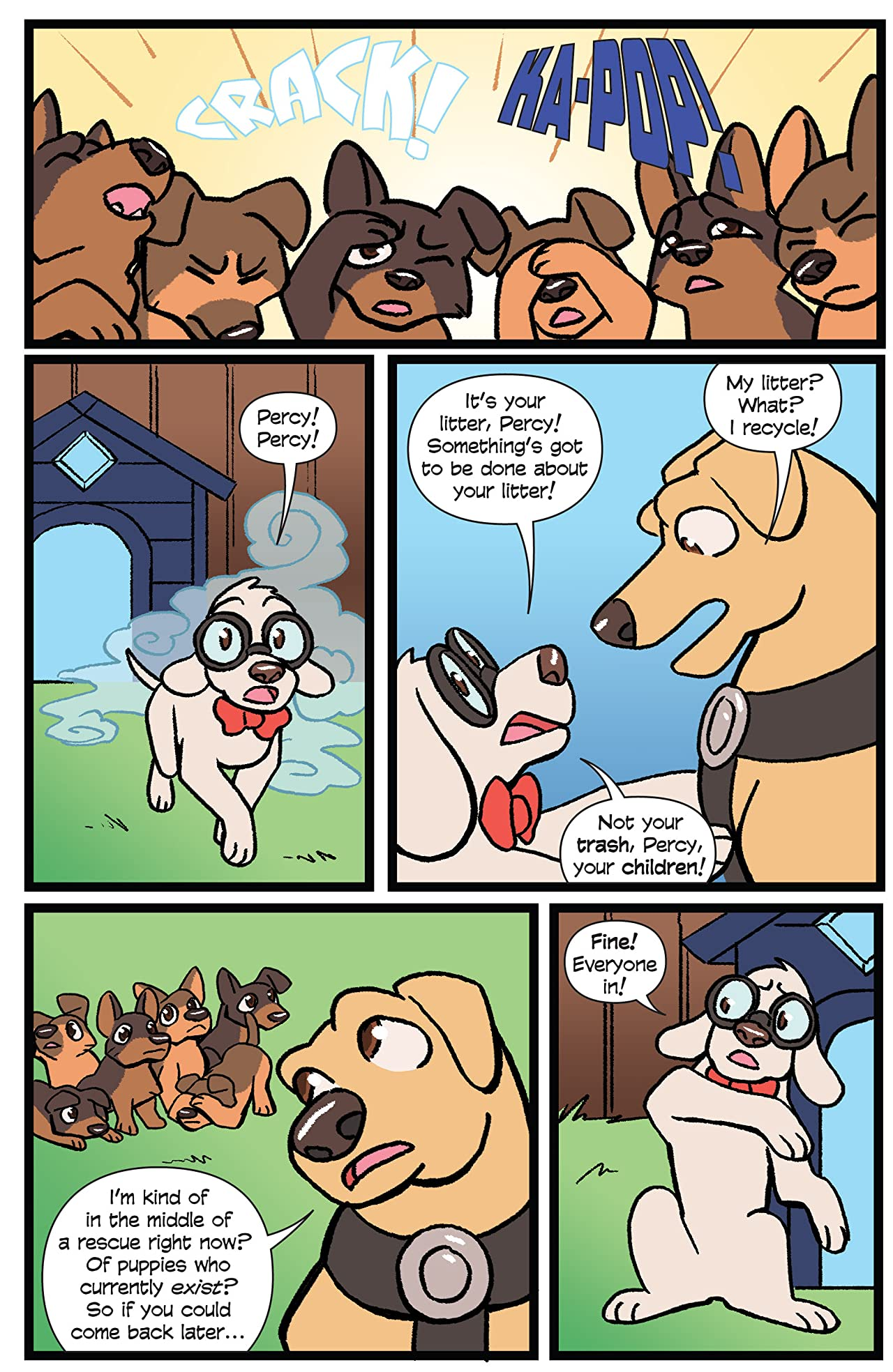 Action Lab: Dog of Wonder #7