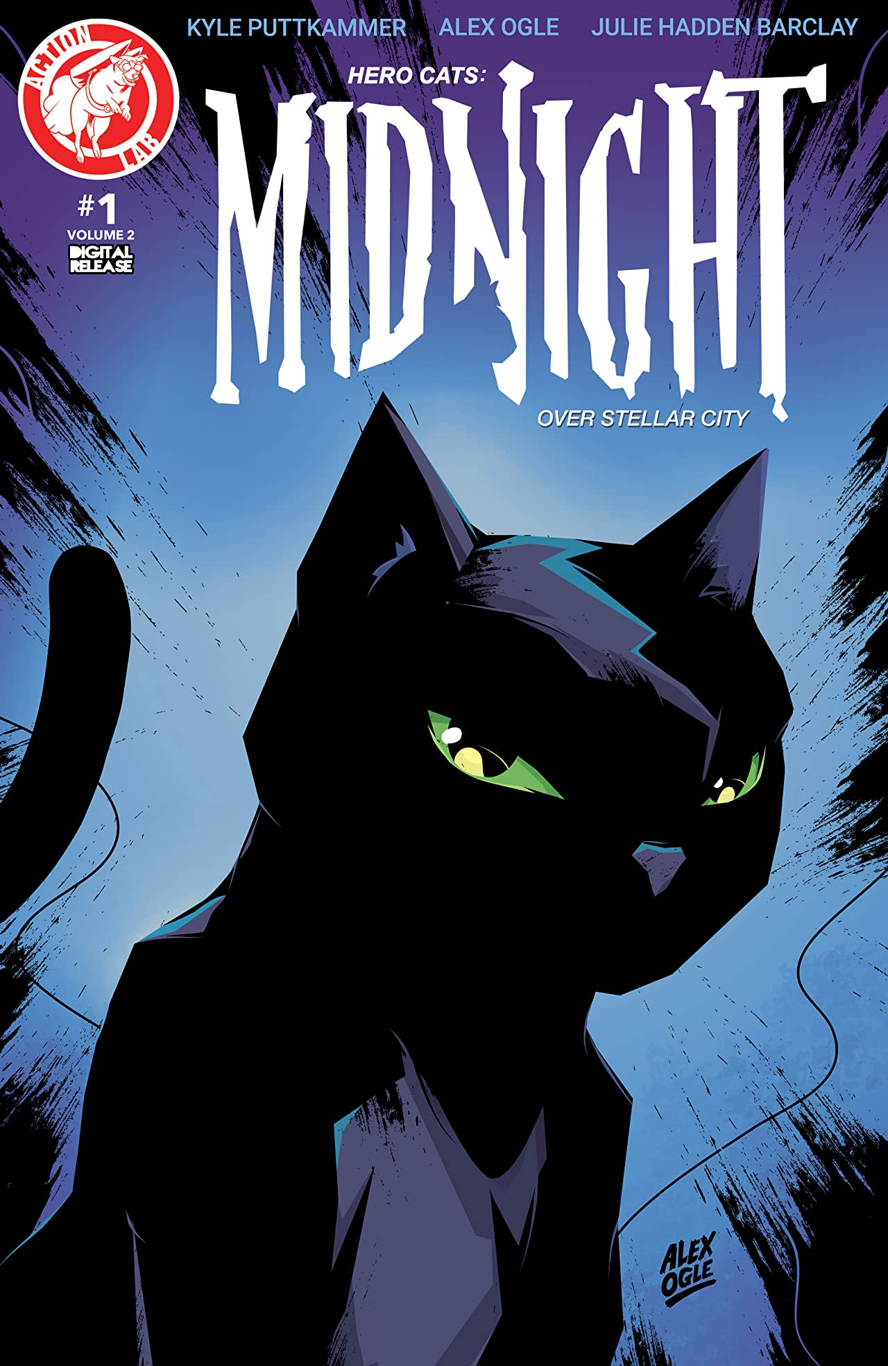 Hero Cats: Midnight Over Stellar City Vol. 2 #1