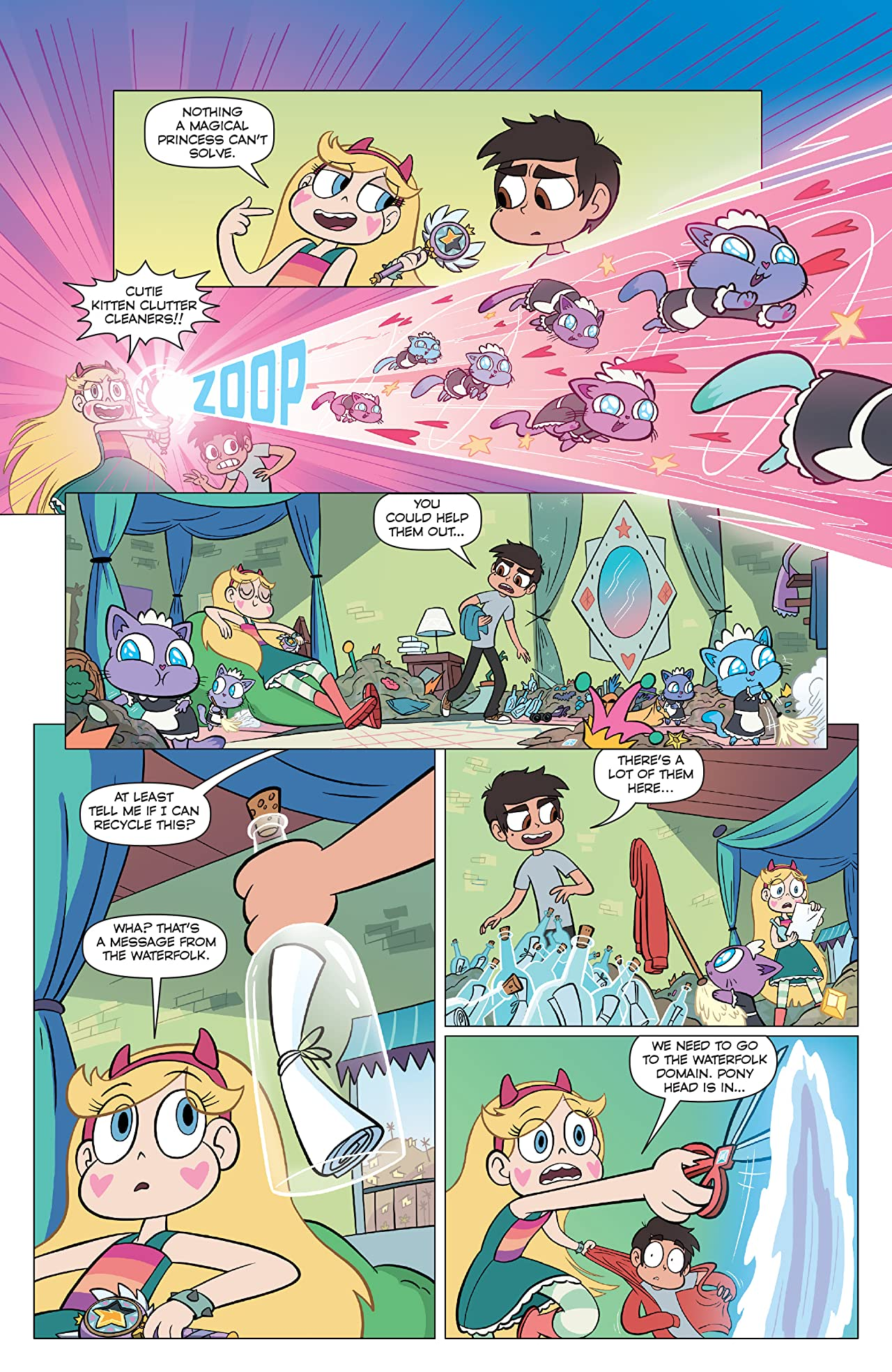 Disney Star Vs the Forces of Evil #1