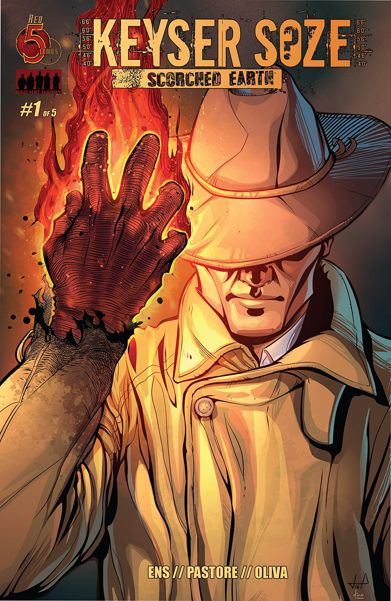 Keyser Soze: Scorched Earth #1 (of 5)