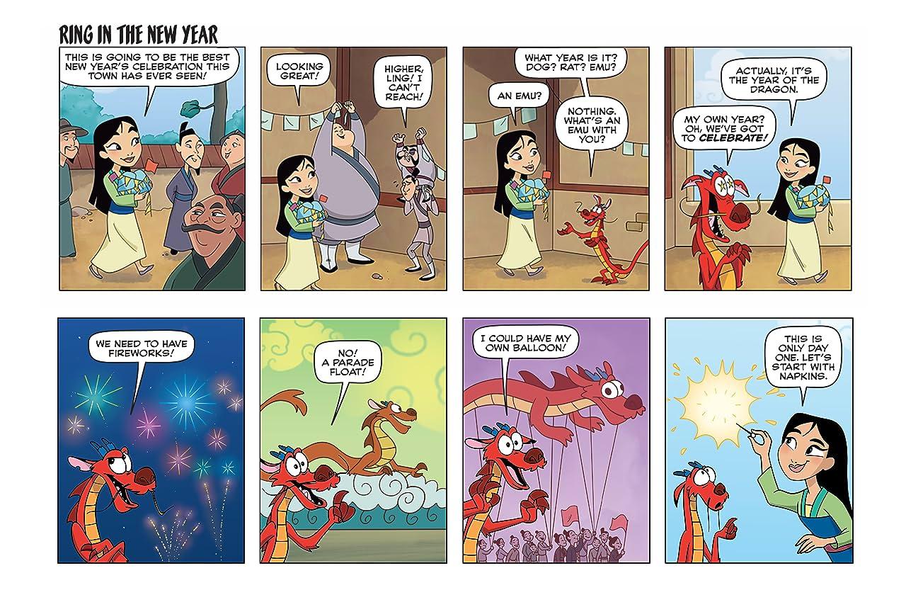 Disney Princess #16: Holiday Spotlight