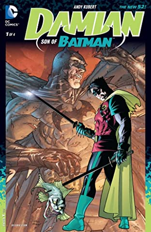 Damian: Son of Batman (2013-2014) #1 (of 4)