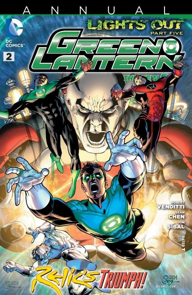 Green Lantern (2011-) #2: Annual