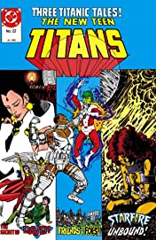 The New Teen Titans (1984-1996) #22